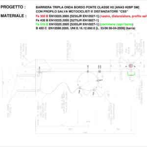X:33_ANAS 60.000.000Documentazione TecnicaMarcatura CEMarchi CE5) Marchi M1 e M2 rev 1 in elaborazioneBarriera ANAS_H2BP